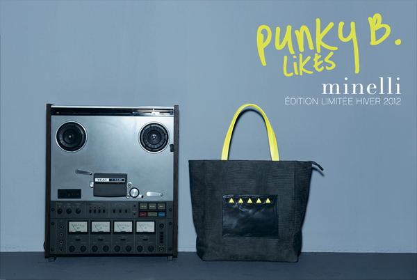 Collection Punky b likes Minelli Hiver 2012