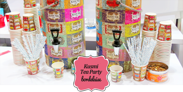 Kusmi Tea Party Bordelaise