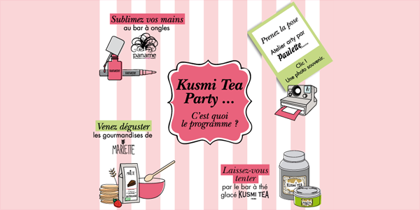 L'évènement Kusmi Tea Party Bordeaux