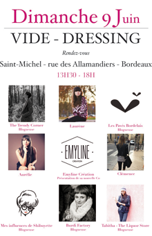 Vide dressing - Quartier Saint Michel à Bordeaux